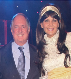 Neil Sedaka and Jenny Sinclair